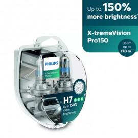 Λάμπες Philips H7 X-treme Vision Ultra Pro150