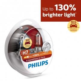 Λάμπες Philips H7 X-treme Vision G-force +130%