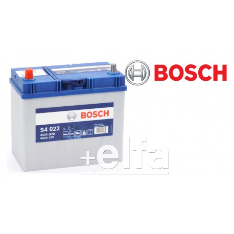 ΜΠΑΤΑΡΙΑ ΑΥΤΟΚΙΝΗΤΟΥ BOSCH 45ΑΗ S4 022