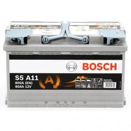 Μπαταρία αυτοκινήτου BOSCH 80 Ah START STOP AGM