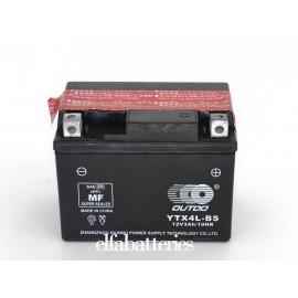 Μπαταρία Μοτοσυκλέτας YTX4L-BS