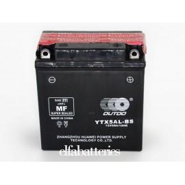 Μπαταρία Μοτοσυκλέτας YTX5AL-BS