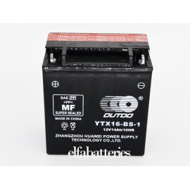 Μπαταρία Μοτοσυκλέτας YTX16-BS